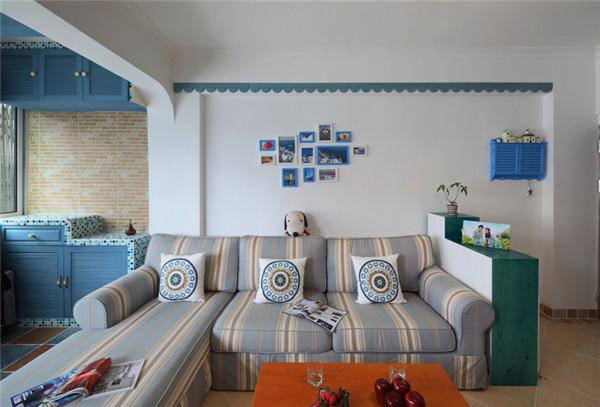 客厅图片来自武汉苹果装饰在东原晴天见的分享