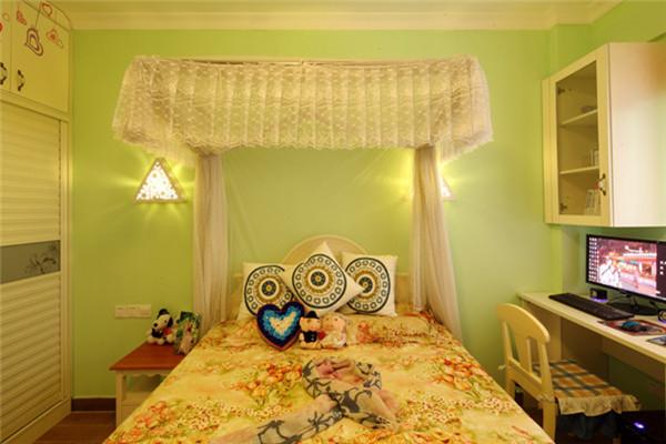 卧室图片来自武汉苹果装饰在东原晴天见的分享