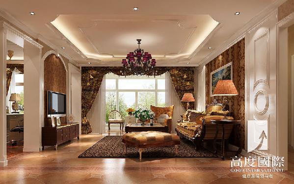 翡翠城-188平方米-简欧风格----客厅