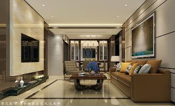 枫华府第-现代风格-145平