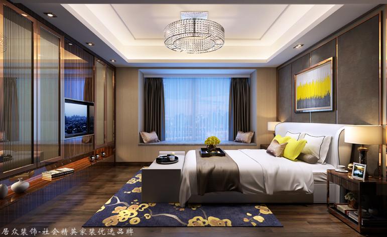 现代 四居 卧室图片来自杭州居众装饰集团设计院在康城国际-现代风格-220平的分享