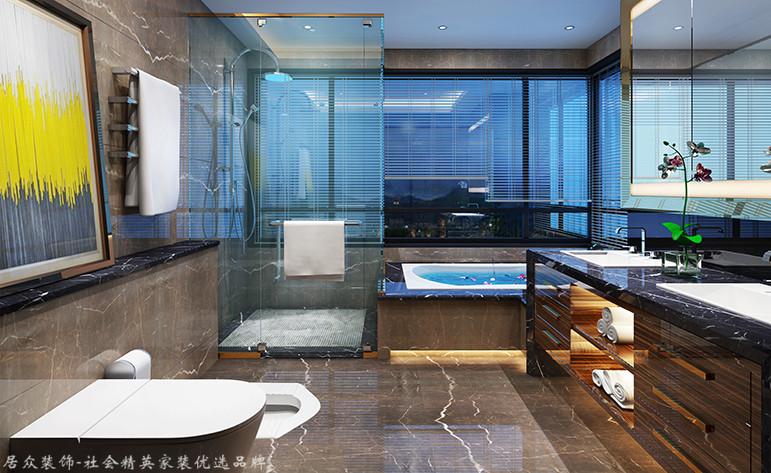 现代 四居 卫生间图片来自杭州居众装饰集团设计院在康城国际-现代风格-220平的分享