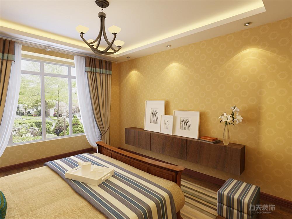 地中海 三居 收纳 小资 卧室图片来自阳光力天装饰在地中海风格-奥莱城-139㎡的分享