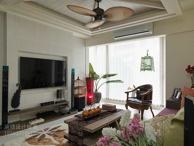 东南亚风情 客厅图片来自成都-丰立装饰集团在东南亚浪漫风情享受品位生活的分享