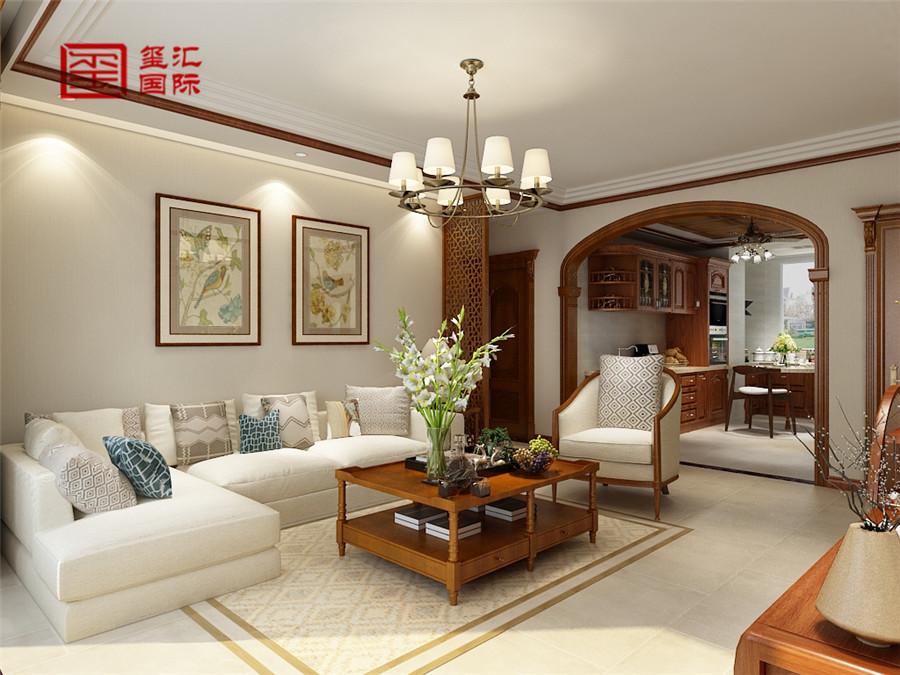 三居 混搭 白领 玺汇国际 客厅图片来自河北玺汇国际装饰公司在136平玫瑰湾混搭风格的分享