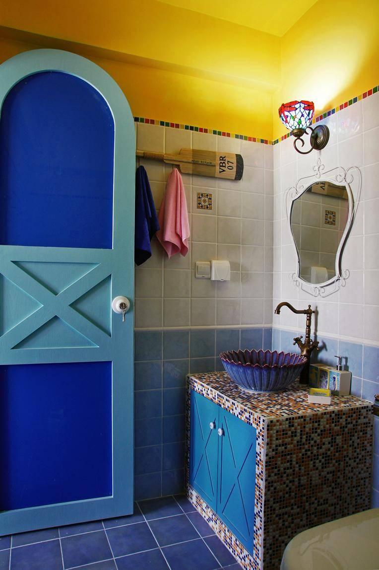 二居 地中海 苹果装饰 全包装修 卫生间图片来自武汉苹果装饰在苹果装饰 保利公园九里的分享