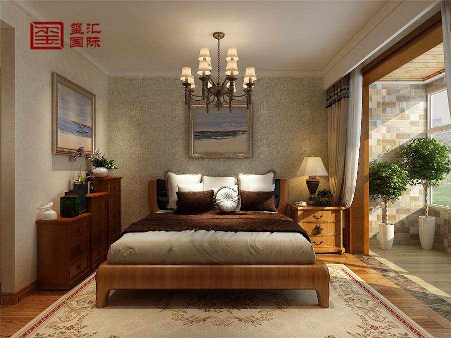 三居 混搭 白领 玺汇国际 卧室图片来自河北玺汇国际装饰公司在136平玫瑰湾混搭风格的分享