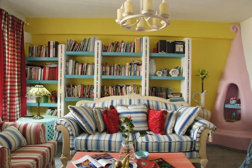 二居 地中海 苹果装饰 全包装修 客厅图片来自武汉苹果装饰在苹果装饰 保利公园九里的分享