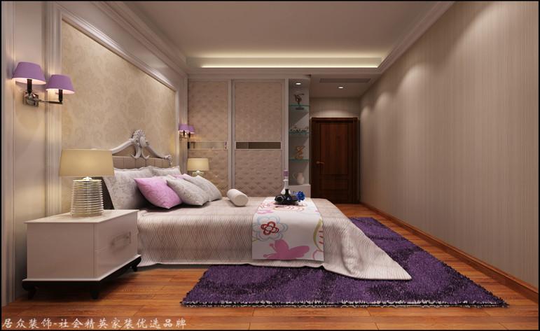 卧室图片来自昆明居众装饰设计工程有限公司在香樟俊园-现代风格-166㎡的分享