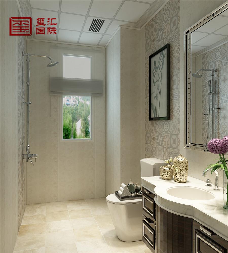 三居 混搭 白领 玺汇国际 卫生间图片来自河北玺汇国际装饰公司在136平玫瑰湾混搭风格的分享
