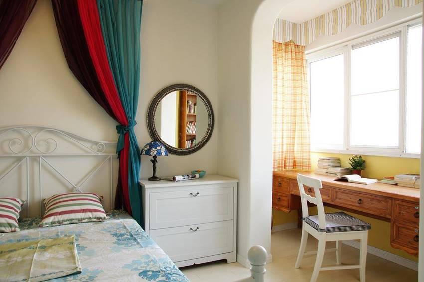 二居 地中海 苹果装饰 全包装修 卧室图片来自武汉苹果装饰在苹果装饰 保利公园九里的分享
