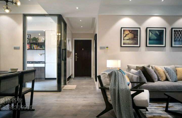 客厅图片来自成都-丰立装饰集团在简约-灰色的分享