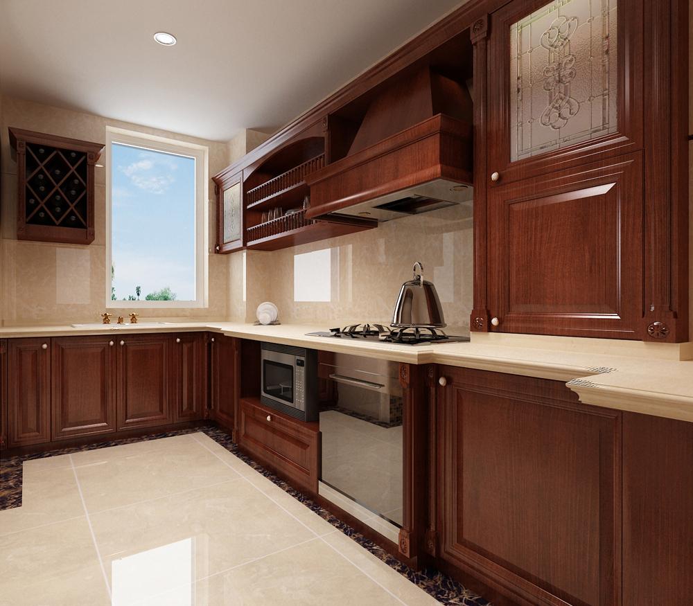 中式 收纳 旧房改造 80后 小资 厨房图片来自天津白天鹅装饰工程有限公司在瞰海品筑中式风格的分享