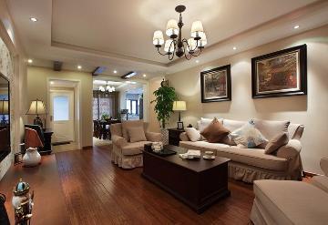 现代美式120平三室两厅