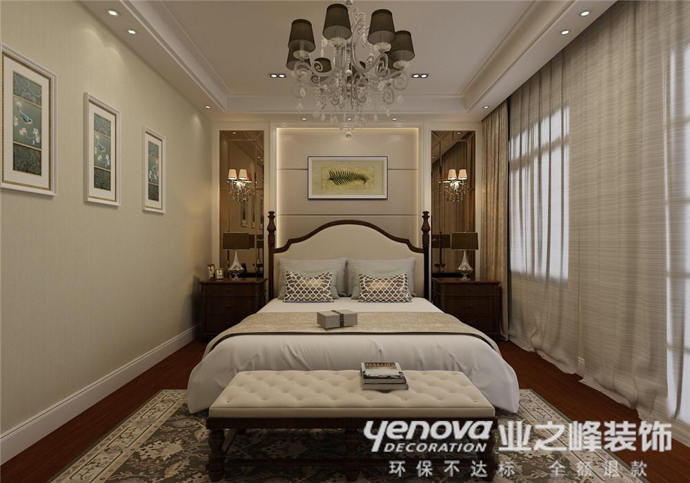 美式 别墅 卧室图片来自青岛业之峰官方客服--小万在青岛小镇 330平 美式风格的分享