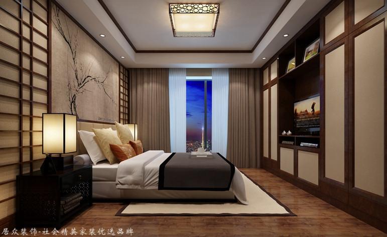 卧室图片来自昆明居众装饰设计工程有限公司在俊发湾流海-地中海风格-178㎡的分享