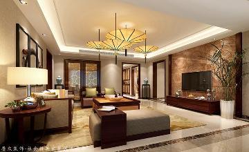 金江小区-新中式风格-170㎡