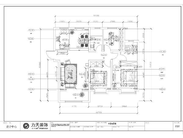 本户型为 中野贤德公馆, 3室2厅1厨1卫 户型功能南北通透,采光较好,通风也较为流畅,该户型可以合理的运用户型的空间,让客户家庭居住的舒适放心。入户门区域是一个矩形的过道,后期作为玄关的位置。