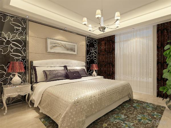 两个卧室较大可放双人床且都有窗户,保证通风和采光。