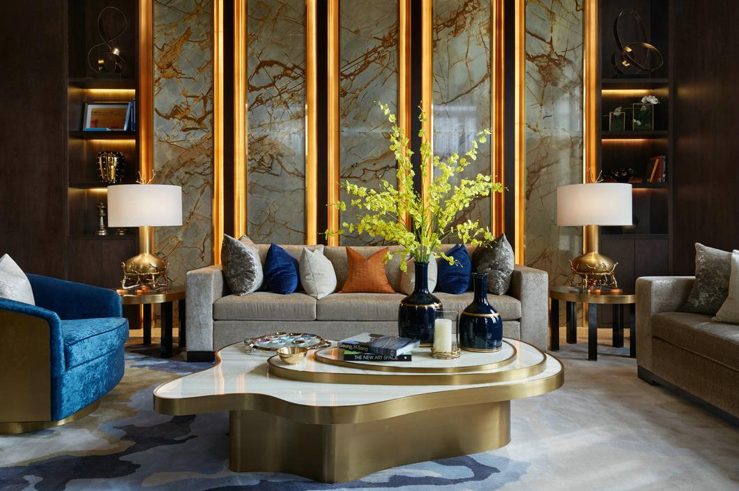 图片来自态美高端室内设计在新中式设计的分享