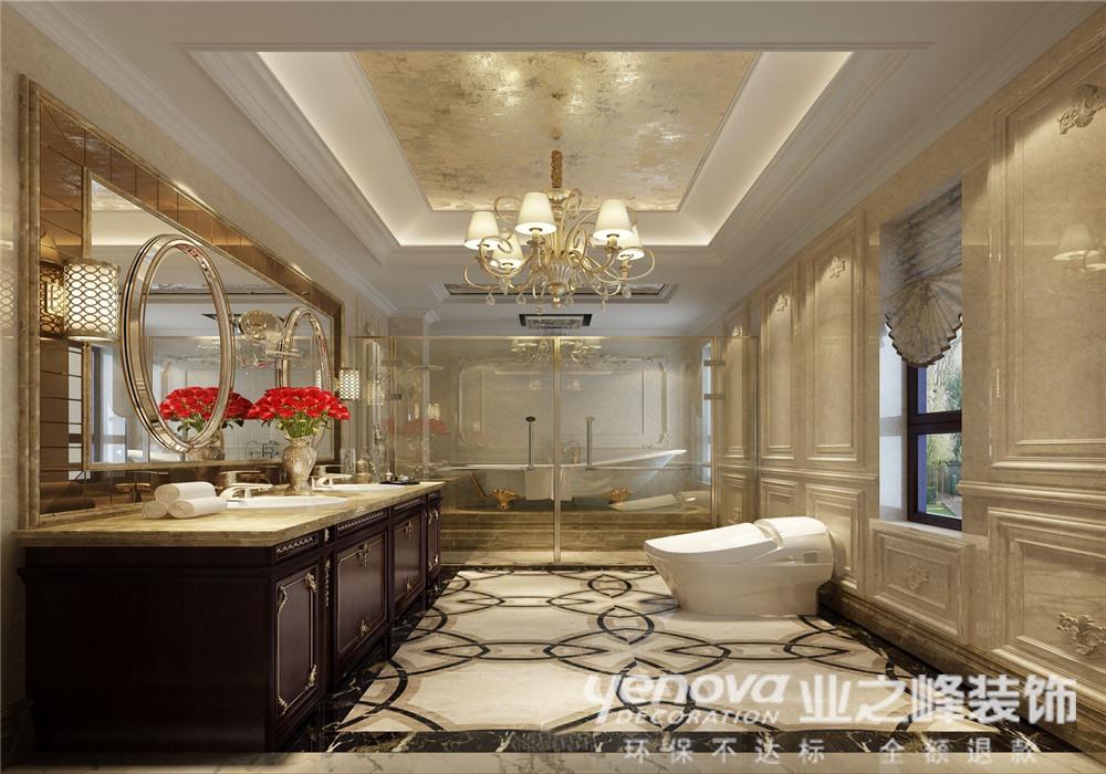 卫生间图片来自青岛业之峰装饰--小娟在骊山国际 欧式的分享