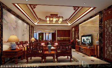 德润朗悦湾-新中式风格-236㎡