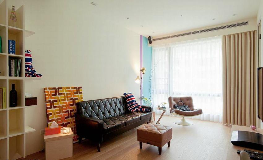 混搭 二居 客厅装修 全包装修 苹果装饰 客厅图片来自武汉苹果装饰在南湖巴黎春天的分享