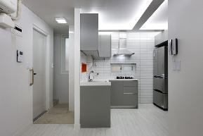 北欧 旧房改造 别墅 80后 小资 厨房图片来自成都上舍居装饰在韩国住所搬回成都的分享