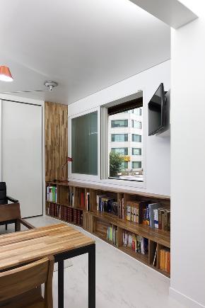 北欧 旧房改造 别墅 80后 小资 书房图片来自成都上舍居装饰在韩国住所搬回成都的分享