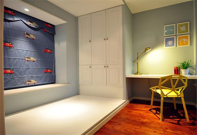 简约 二居 温馨 儿童房图片来自西安福尚装饰家装体验馆在浐灞半岛93平装修的分享