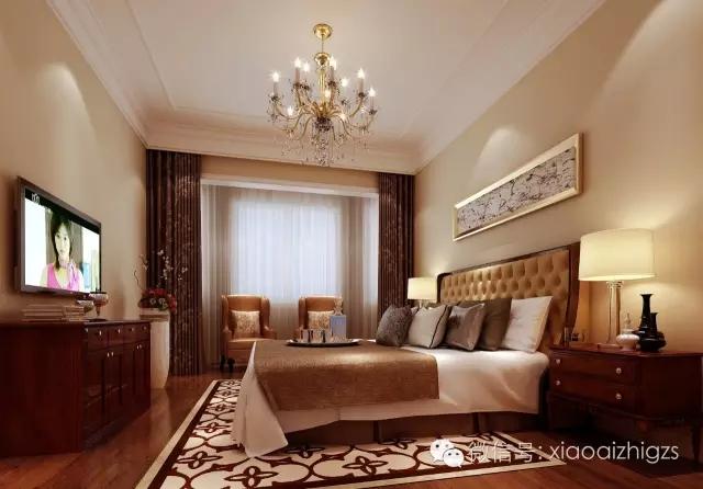 简约 欧式 别墅 卧室图片来自实创装饰上海公司在实创装饰大宅定制-时尚简欧风的分享