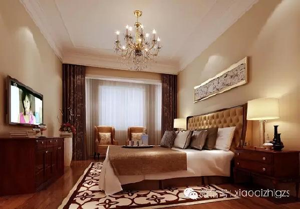 老人房的设计以舒适为主,简单的装饰与家具,色彩深浅搭配,给老人一个舒适的  休息空间。