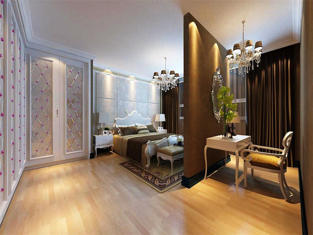 别墅 收纳 小资 美式 卧室图片来自天津白天鹅装饰工程有限公司在俊城御墅,美式风的分享