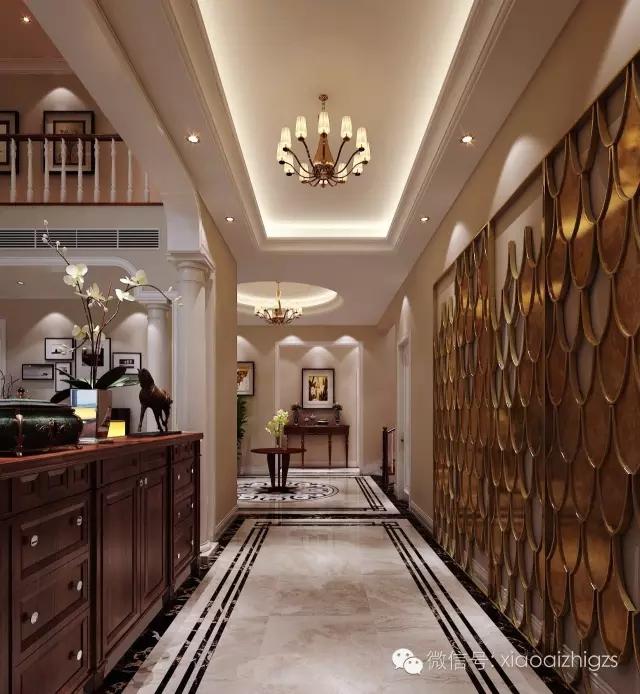 简约 欧式 别墅 玄关图片来自实创装饰上海公司在实创装饰大宅定制-时尚简欧风的分享