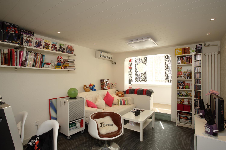 简约 旧房改造 80后 小资 田园 客厅图片来自厅宇设计在年轻化的简约风——厅宇出品的分享