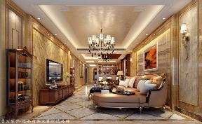 其他 四居 客厅图片来自厦门居众装饰设计工程有限公司在水晶湖郡-其他风格-166㎡的分享