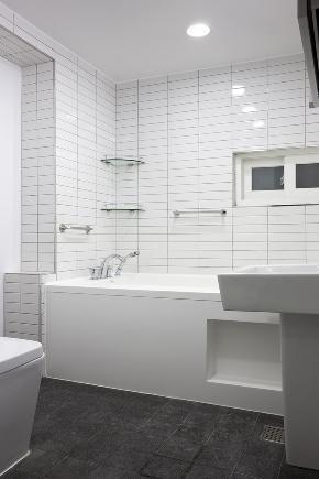 北欧 旧房改造 别墅 80后 小资 卫生间图片来自成都上舍居装饰在韩国住所搬回成都的分享
