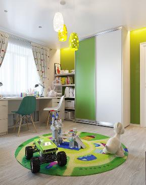 三居 别墅 旧房改造 田园 混搭 欧式 简约 80后 儿童房图片来自成都上舍居装饰在童心未免  成都小伙北欧风格新家的分享