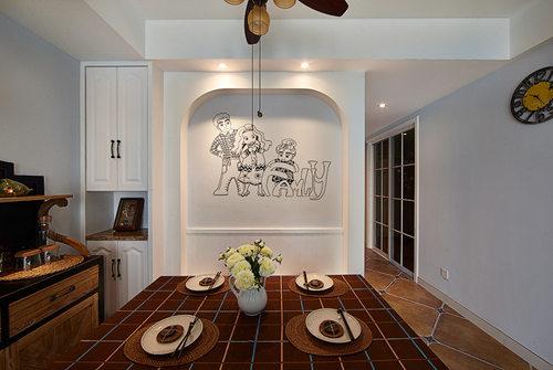 小户型装修 苹果装饰 二居 美式风格 收纳 餐厅图片来自武汉苹果装饰在苹果装饰 金岛御璟世家的分享