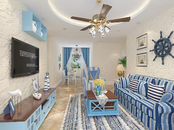 这是金隅悦城两室两厅一厨一卫,总面积约85平的户型这是一套田园地中海风格的房子,地中海的色彩丰富,由于光照足,所有颜色的饱和度也很高,体现出色彩最绚烂的一面。