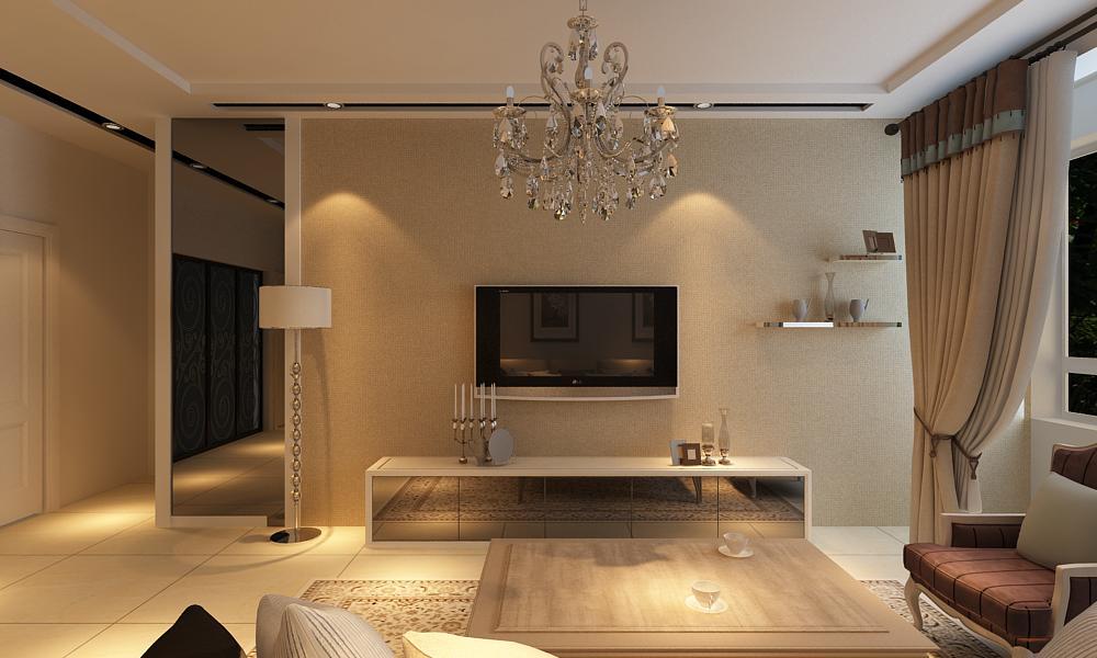 二居 爱家俪都 现代风格 客厅图片来自百家设计小刘在爱家俪都92平现代风格全包6.2万的分享