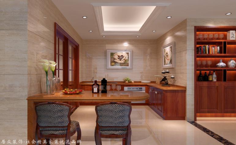 欧式 别墅 厨房图片来自杭州居众装饰集团设计院在泊林漫谷-欧式风格-300平的分享