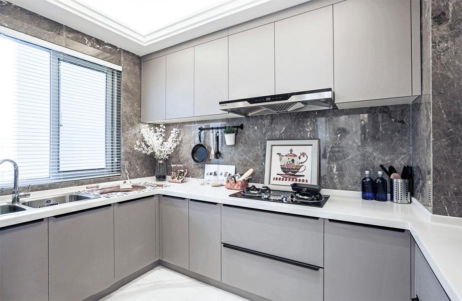 欧式 混搭 三居 白领 旧房改造 收纳 80后 小资 厨房图片来自北京今朝装饰-慧琳在沁春家园的分享