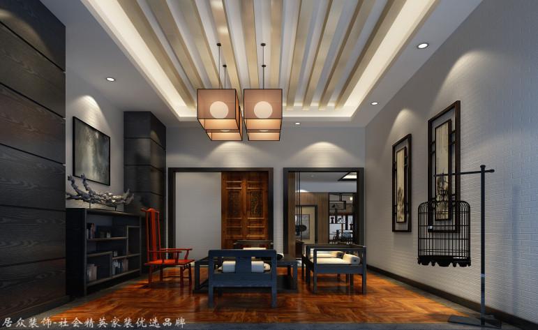 中式 别墅 其他图片来自杭州居众装饰集团设计院在美丽洲别墅-中式风格-380平的分享