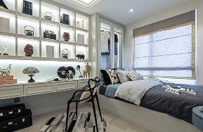 欧式 混搭 三居 白领 旧房改造 收纳 80后 小资 衣帽间图片来自北京今朝装饰-慧琳在沁春家园的分享