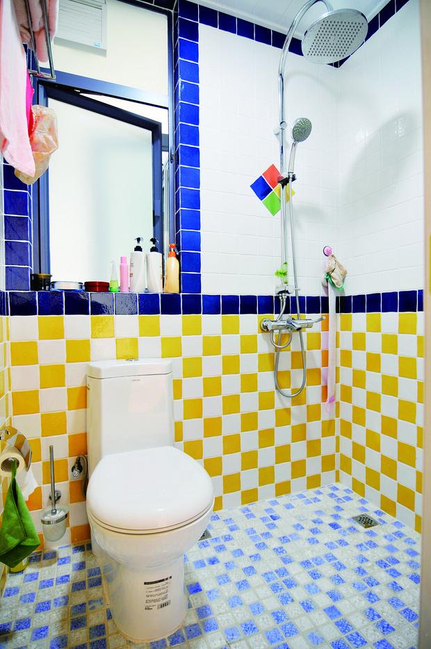 田园 二居 书房设计 苹果装修 卫生间图片来自武汉苹果装饰在苹果装饰-中民仁寿里的分享