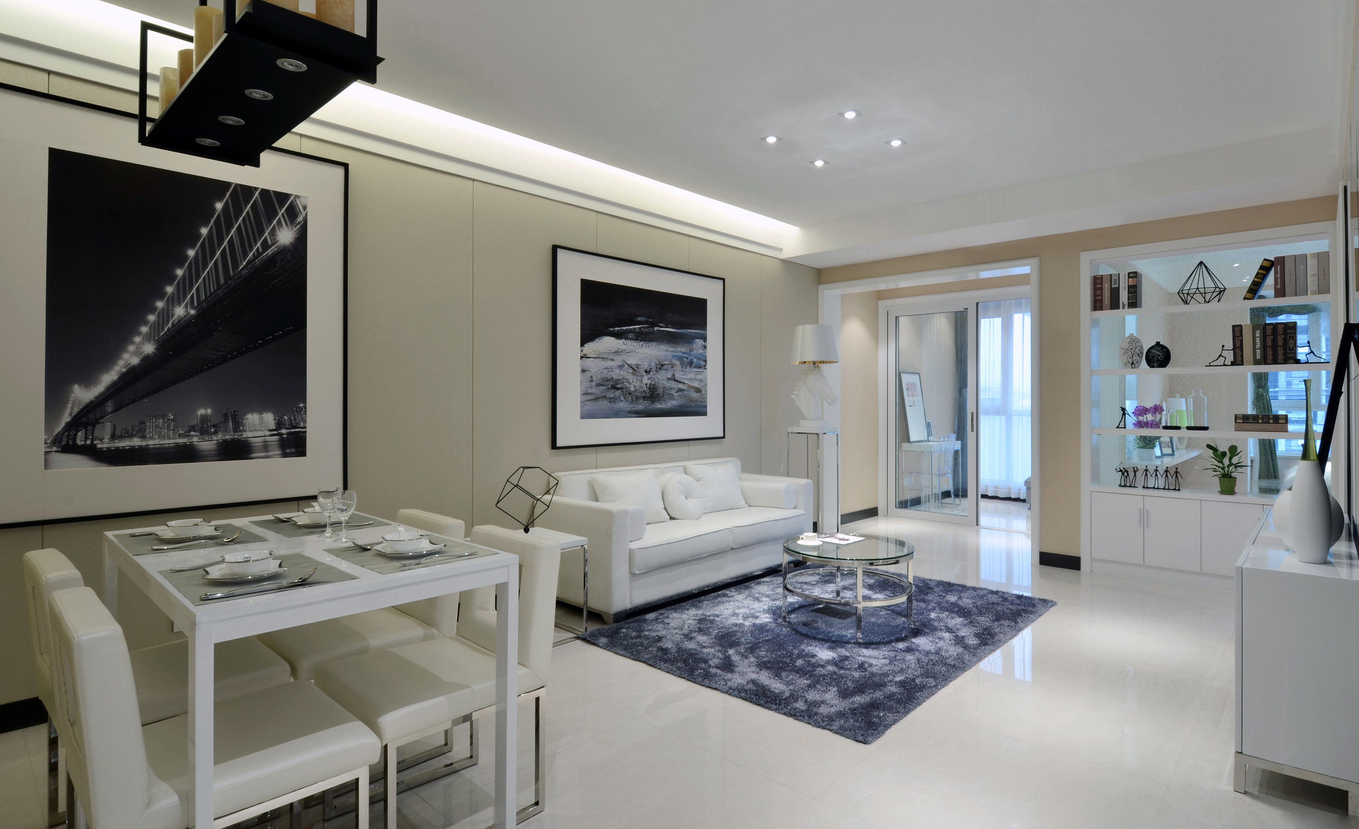客厅图片来自翼森设计在北欧风情的分享
