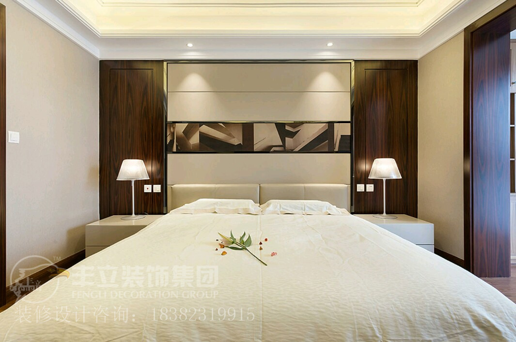 港式 四居 白领 别墅 小资 卧室图片来自成都-丰立装饰集团在港式-不一样的感觉的分享