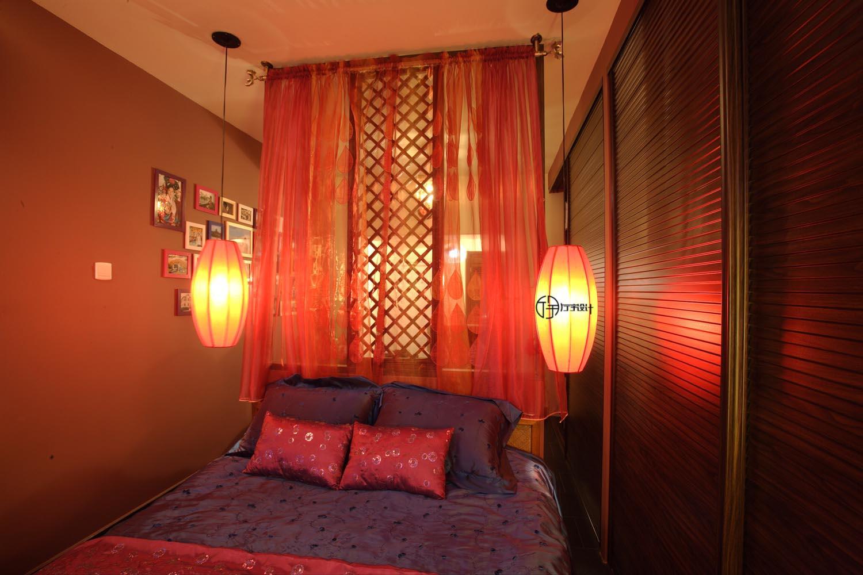 简约 混搭 白领 收纳 旧房改造 80后 小资 卧室图片来自厅宇设计在30平的东南亚演绎—厅宇设计出品的分享