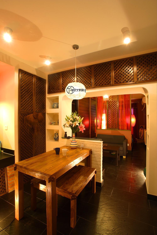 简约 混搭 白领 收纳 旧房改造 80后 小资 餐厅图片来自厅宇设计在30平的东南亚演绎—厅宇设计出品的分享